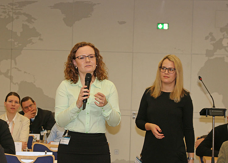 Daniela Eichelsdörfer, HSS-Referentin und Europakandiatin
