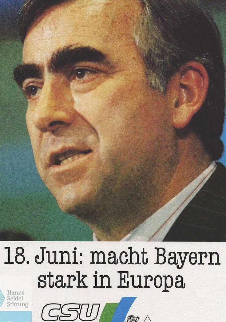Flugblatt für die Europawahl 1989