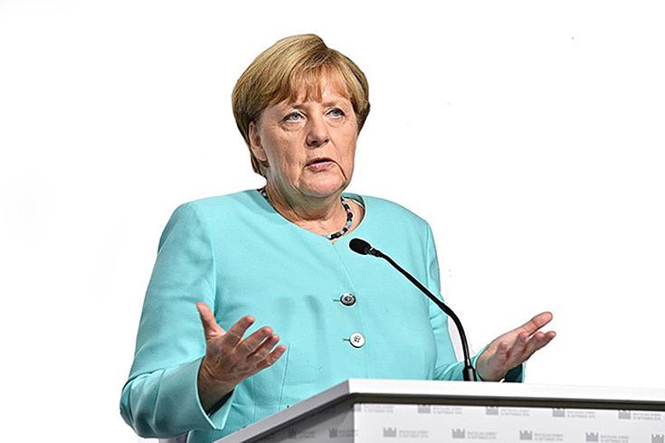"""""""Gegen uns kann keine Regierung gebildet werden."""" (Bundeskanzlerin Angela Merkel nach dem Wahlsieg)"""