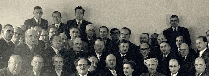 Foto der CSU-Landesgruppe der 2. Wahlperiode 1953