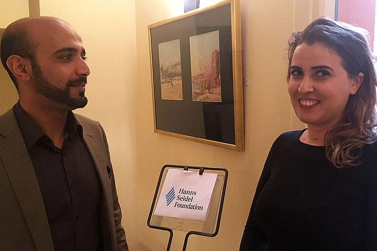 Safa Abdessalem, ist Ingenieurin im Gesundheitsministerium, kommt ursprünglich aus Hammamet, lebt aber jetzt in Médenine. Interviewt wird sie von Said AlDailami, HSS-Projektleiter in Tunesien.