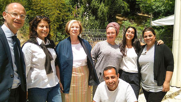 """Das Projekt """"Multi‑ cultural social incubator"""" steht für demokratische Partizipation und Ausgleich in der Gesellschaft. Junge Erwachsene verschiedener Herkunft engagieren für sozialen Wandel und Bürgerbeteiligung in Sderot"""