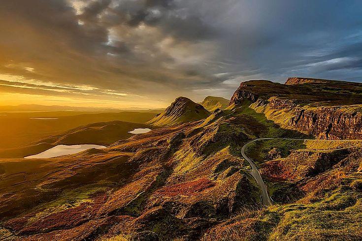 Morgenluft auch in Schottland: Die England-kritische Regierung unter Nicola Sturgeon könnte die Neuwahlen für ein neues Unabhängikeitsreferendum nutzen.