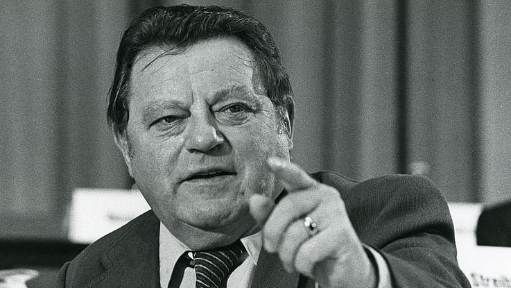 """Franz Josef Strauß auf dem CSU-Parteitag """"Einigkeit und Recht und Freiheit"""" 1978"""
