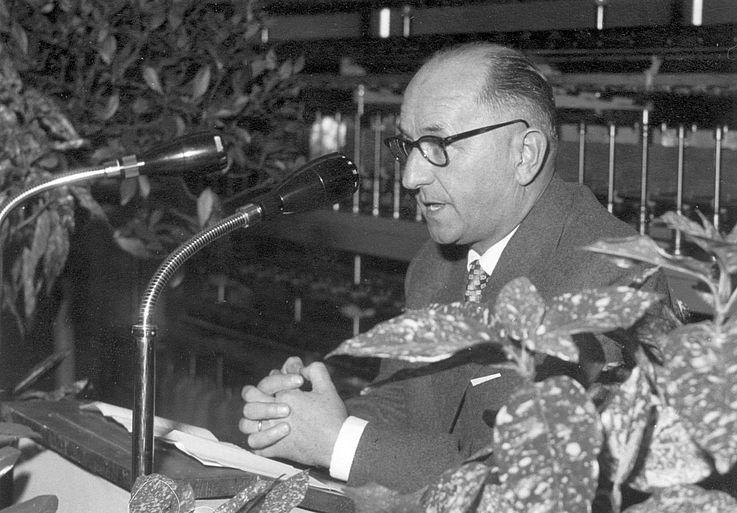 Hanns Seidel setzte sich besonders für die politische Bildung ein.