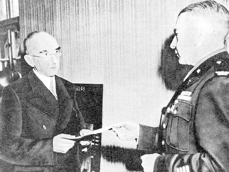 Kriegsende und Neuanfang im Mai 1945