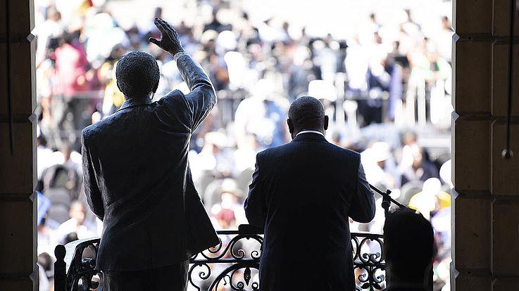 Madibas große Fußstapfen