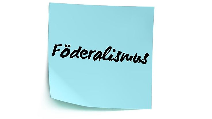 Definition Föderalismus