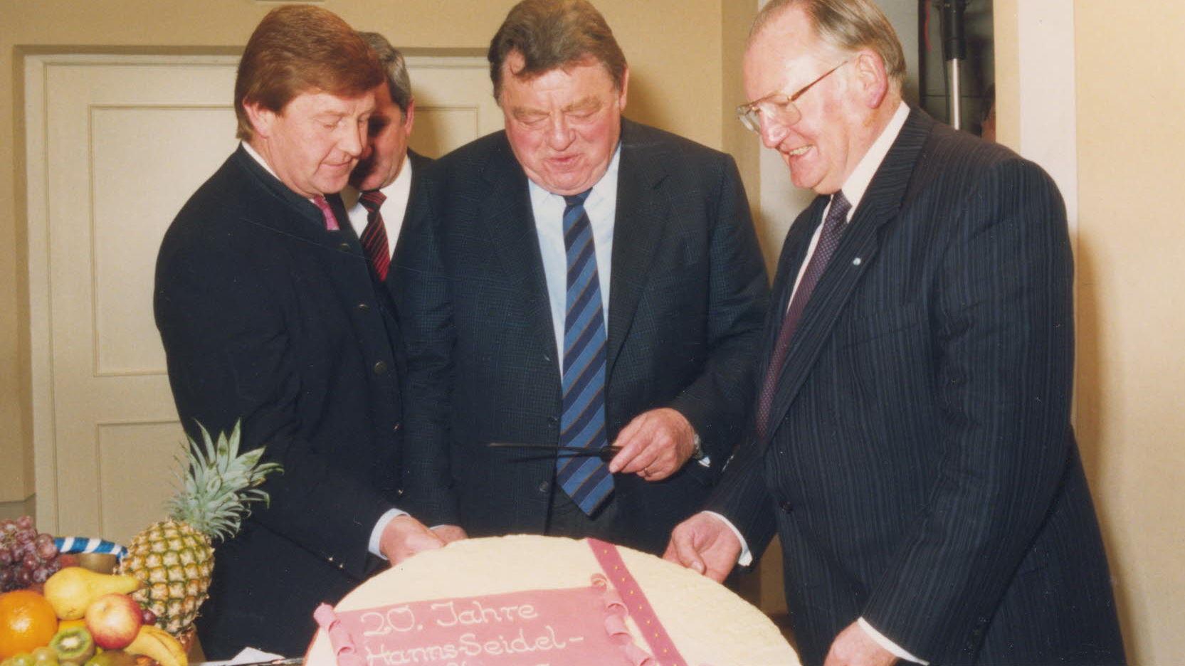 20-jähriges Jubiläum der Hanns-Seidel-Stiftung