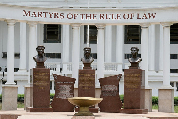 Martyrs of the rule of law (Ghana)