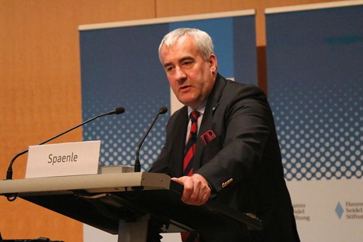Der Bayerische Wissenschaftsminister Ludwig Spaenle