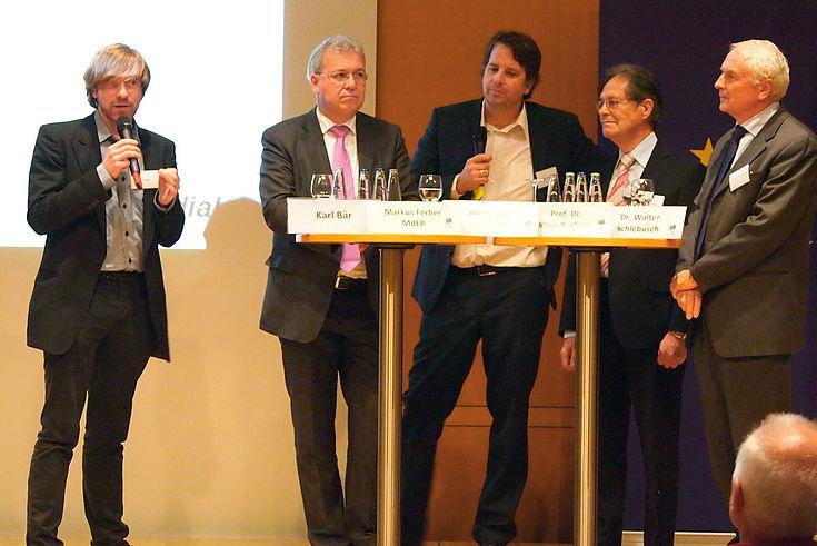Karl Bär, Markus Ferber, Alexander Hagelüken, Klaus Buchner, Walter Schlebusch
