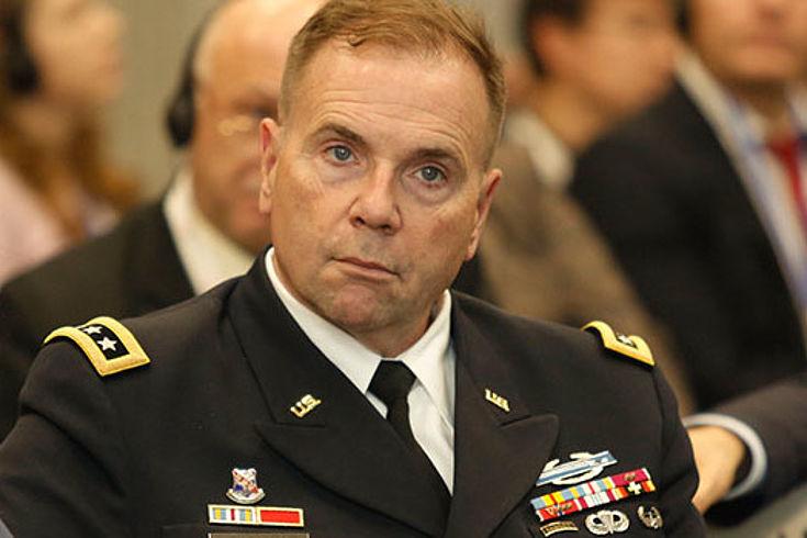 Generalleutnant Ben Hodges erläutert die US-amerikanische Perspektive