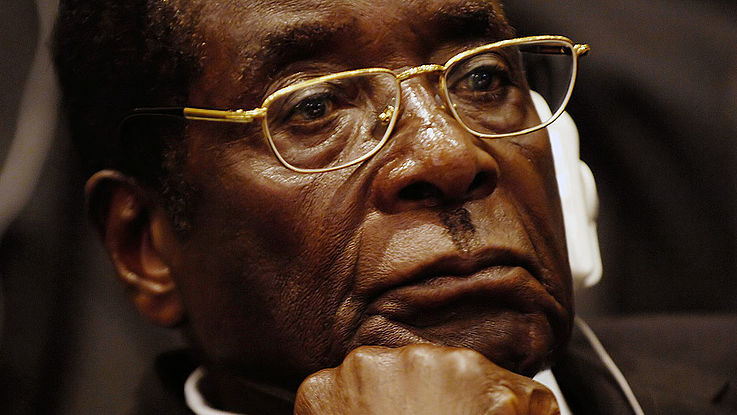 Robert Mugabe Nahaufnahme