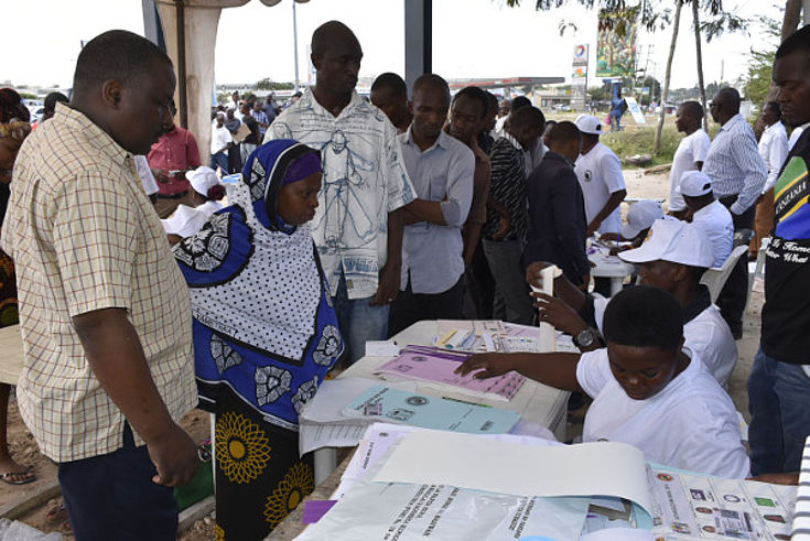 Tansania am Wahltag