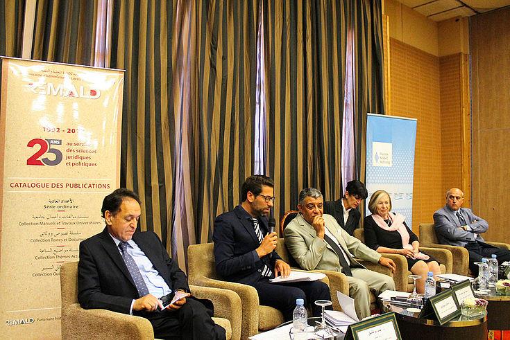 Eröffnungszeremonie der Jubiläumsfeier 25 Jahre REMALD: In ihrer Festrede hob Professor Männle die politische Stabilität Marokkos hervor, die auch für Europa von enormer Bedeutung sei.