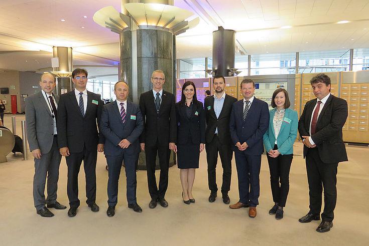 """Gemeinsamer Gedankenaustausch mit slowakischem MdEP Ivan Štefanec (4vL): """"brauchen einheitlichen EU-Markt im Digitalbereich"""""""