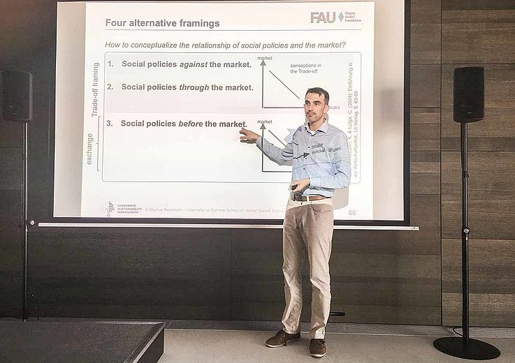 Prof. Dr. Markus Beckmann lehrt an der Friedrich-Alexander Universität Erlangen-Nürnberg