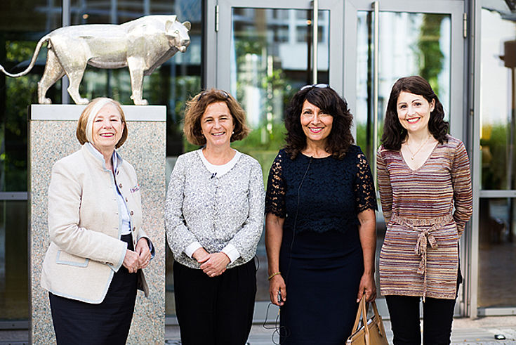 Ursula Männle, Daniela Arnu, Rachida Nachit, Susanne Schmid