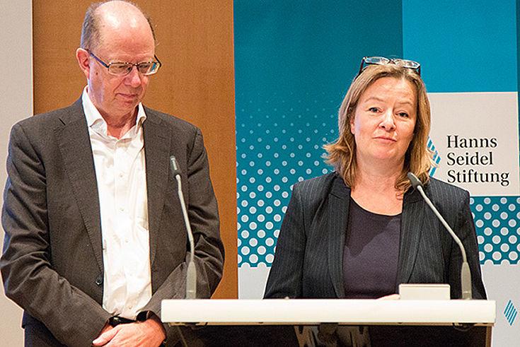 Thomas Röbke und Claudia Leitzmann