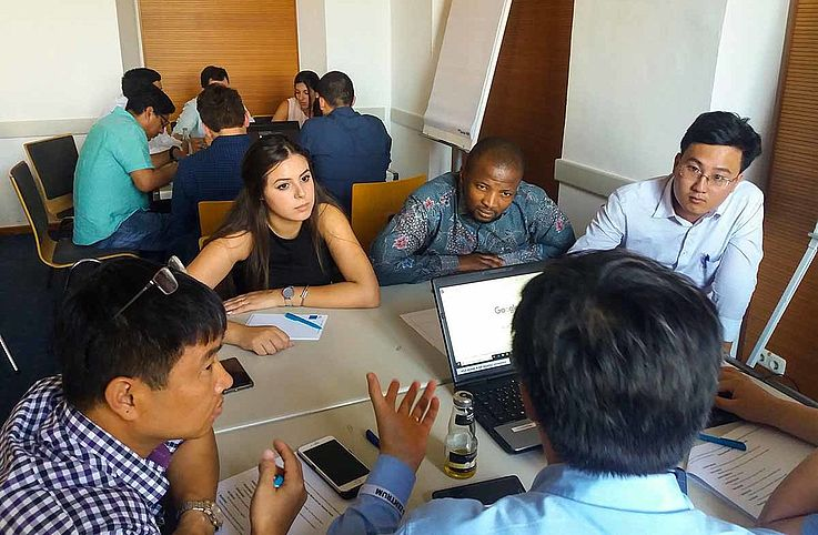Gemeinsames Lernen und Entwicklung neuer Projekte