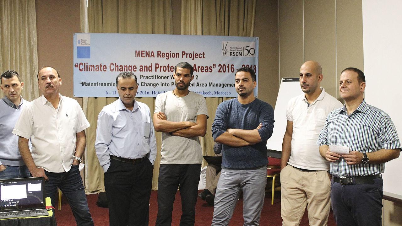Gruppenfoto von den Teilnehmern des Workshops