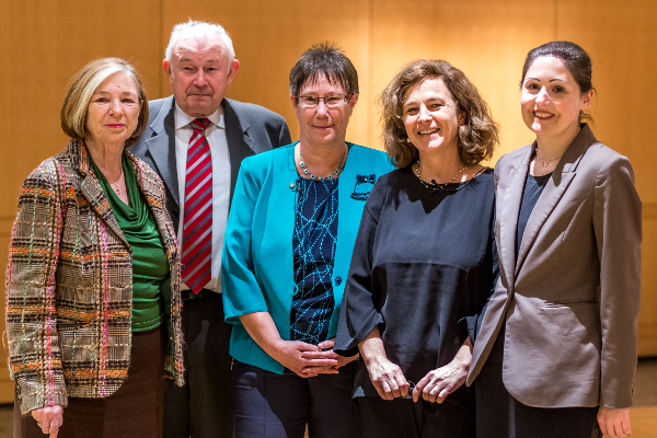 Ursula Männle, Günther Beckstein, Petra Sandles, Daniela Arnu, Susanne Schmid