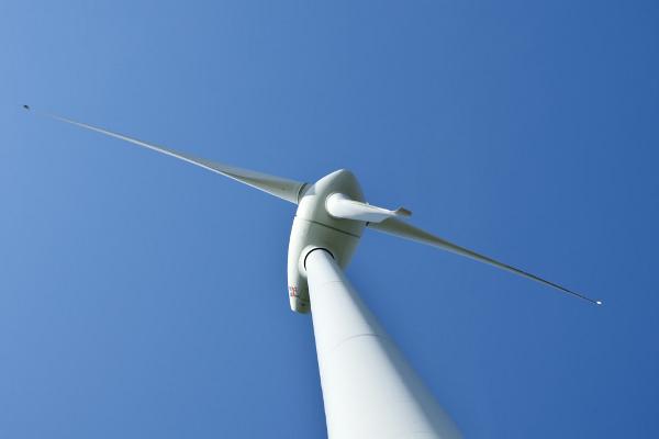 Windkraftanlage in Sassendorf