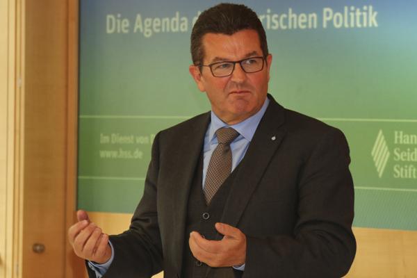 Staatsekretär Franz Josef Pschierer