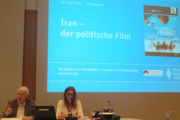 """""""Ein Augenblick Freiheit """" stand im Fokus des Filmseminars."""