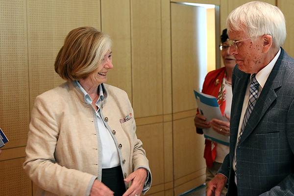 Ursula Männle und Rainer Kunze
