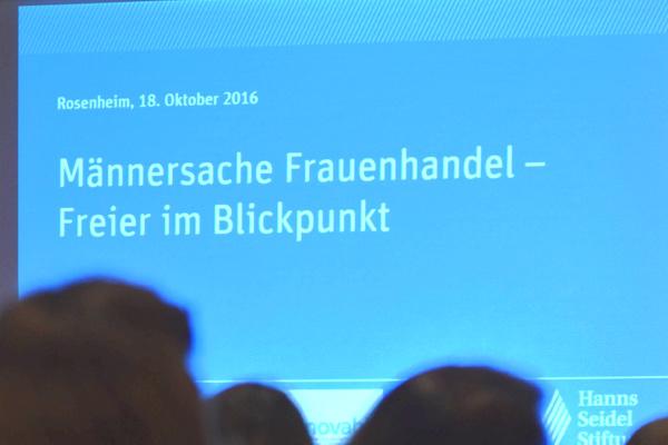 Das Tagungsthema der Veranstaltung