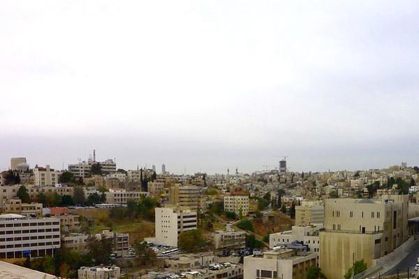 Stadtansicht von Amman