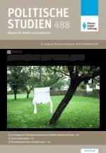 """Politische Studien 488 im Fokus """"Abgehängt auf dem Land?"""""""