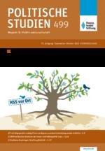 """Politische Studien 499 im Fokus """"Nachhaltige Verantwortung weltweit"""""""