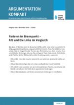 Parteien im Brennpunkt - AfD und Die Linke im Vergleich