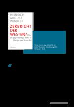 Aktuelles Buch: Die transatlantische Wertegemeinschaft in der Sinnkrise