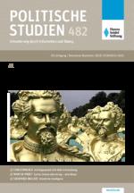 """Politische Studien 482 im Fokus """"Mit Kultur Politik machen"""""""