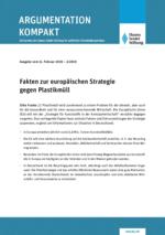 Fakten zur europäischen Strategie gegen Plastikmüll