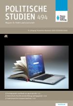 """Politische Studien 494 im Fokus """"Welche Bildung brauchen wir?"""""""
