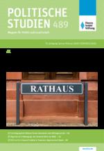 """Politische Studien im Fokus """"Politik vor Ort - Kommunalwahlen 2020"""""""