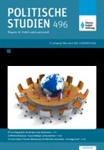 """Politische Studien 496 im Fokus """"Ein Comeback für den Multilateralismus?"""""""